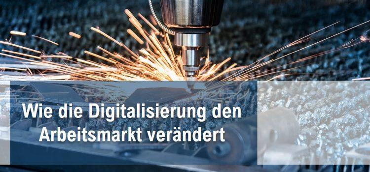 Digitalisierung am Arbeitsmarkt