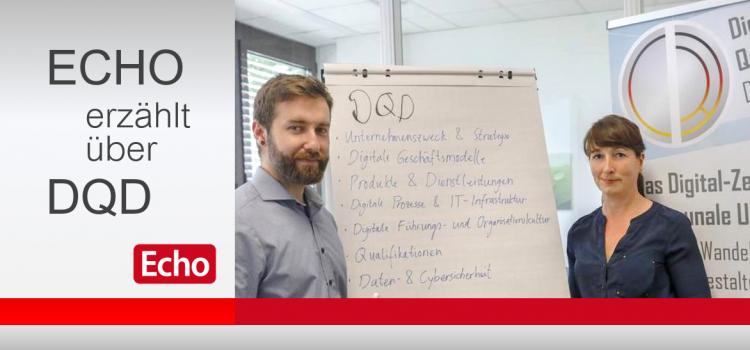 Digital Qualität Deutschland (DQD) im Interview mit der Regionalzeitung ECHO
