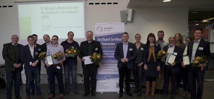 Verleihung der ersten DQD-Zertifikate an Kommunen